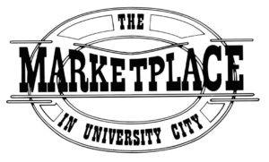 The Marketplace in university city logo
