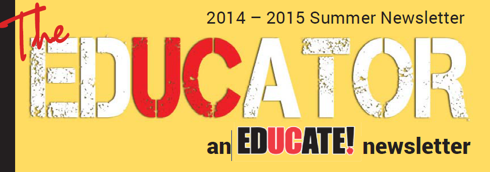 educate summer 2015 newsletter