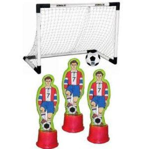 Soccer Men Knock Down