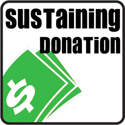 Make a Sustaining Donation thtough PayPal